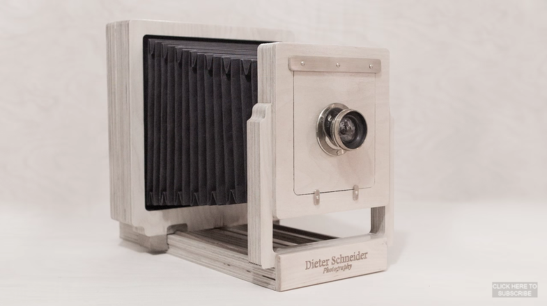 This Is What It's Like to Build a Large Format Camera Out of Plywood