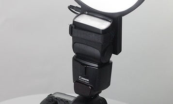 LightRight Combines Video LED and Flash Bouncer Into One