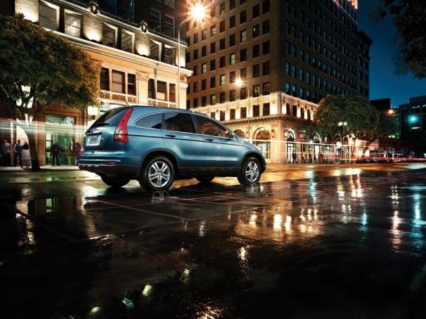 Honda CR-V minivan/SUV hybrid