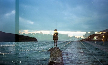 """""""People vs Places"""" Combines Two Photographers' Work Through Double Exposures"""
