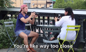 Video: Comedian Fakes Being Humans of New York Photographer