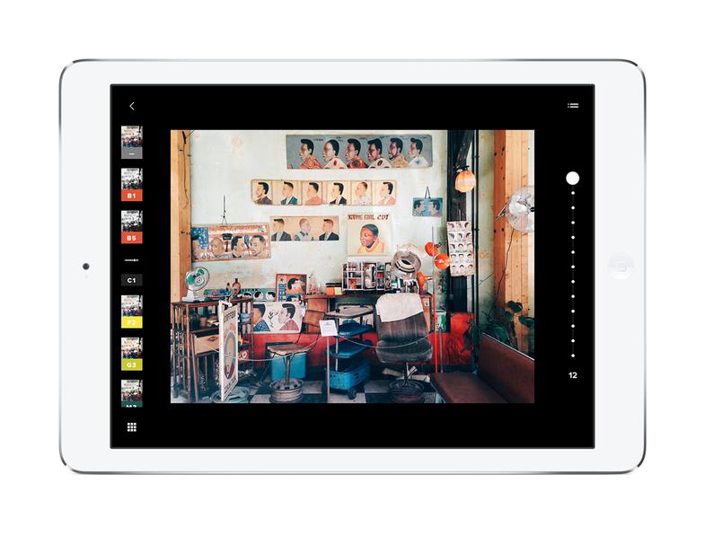 VSCO Cam 4.0 iPad Photo Editing App