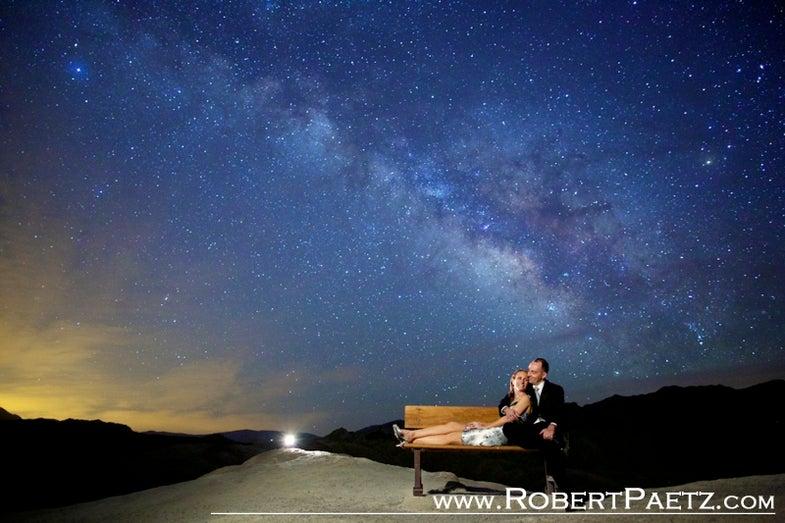 Robert Paetz Astro Photography Engagement Portraits