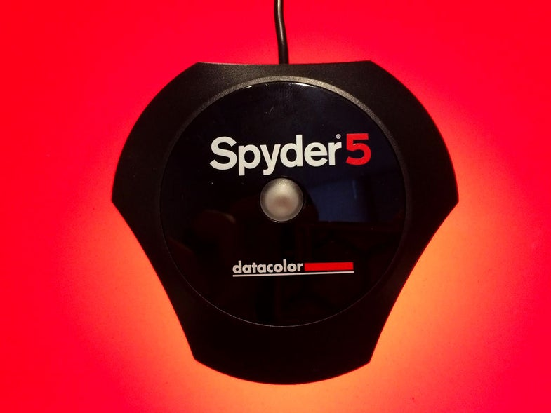 Spyder 5 Elite Monitor Calibration Software