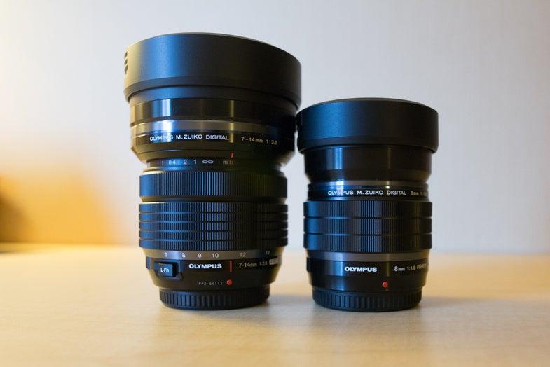 New Gear: Olympus M.Zuiko ED 7-14mm f/2.8 PRO and M.Zuiko 8mm f/1.8 PRO Fisheye