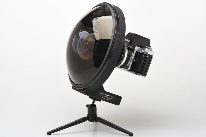 Video: Nikon Super-Rare 6mm Fisheye Lens