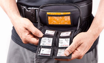 New Gear: Spider Memory Card Organizer and Medium Lens Pouch