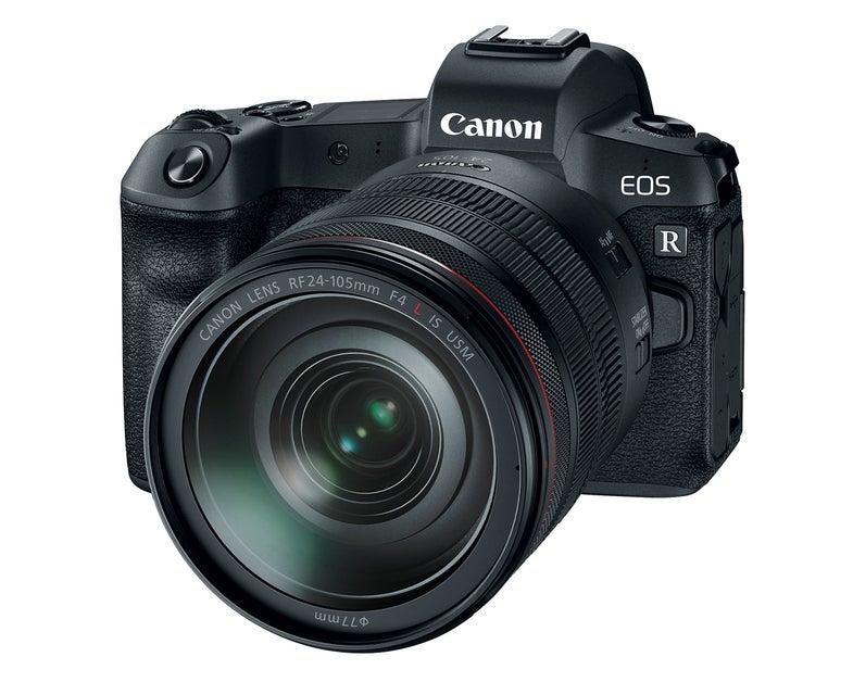 Canon EOS R full-frame mirrorless camera