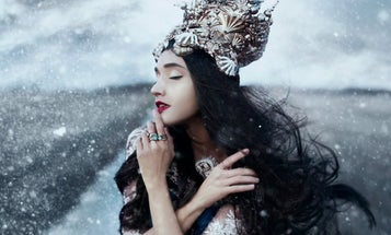 Watch Bella Kotak Edit a Winter-Themed Fantasy Image