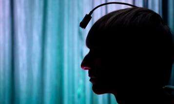 Human Cyborg Uses a Head-Mounted Camera to Hear Colors