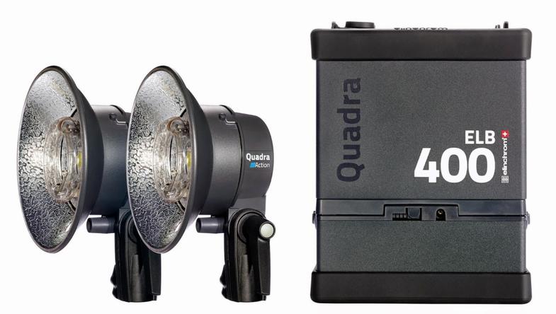 Elinchrom ELB 400 Portable Photo Strobes