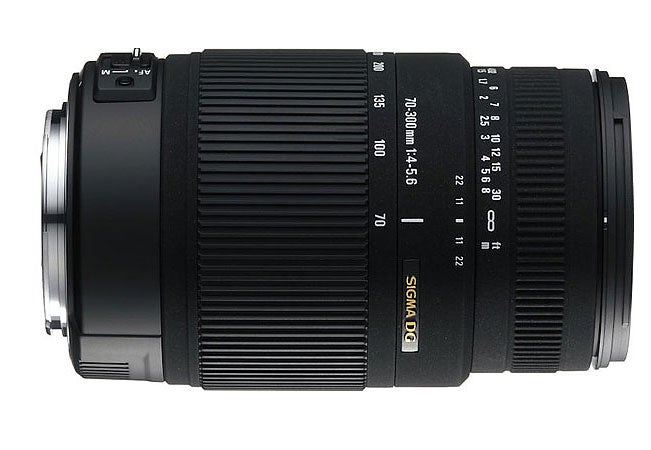 Sigma 70–300mm f/4–5.6 DG OS