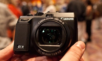 Hands On Video: Canon G1 X