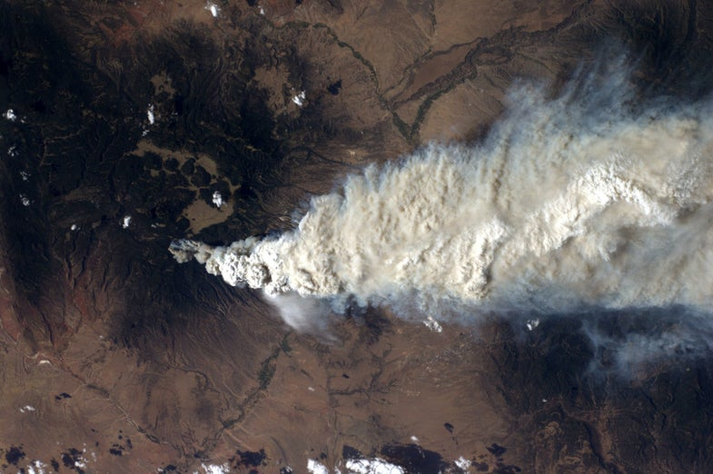 New Mexico wildfire