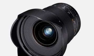 Samyang (Rokinon) Announces 20mm f/1.8 ED AS UMC Full-Frame Prime Lens