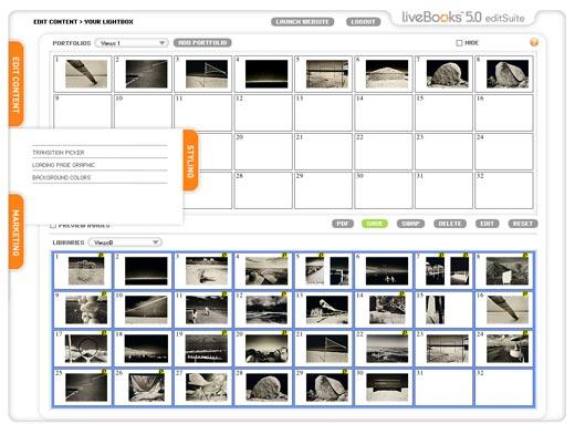 """LiveBooks-v.5-s-lightBox-interface"""