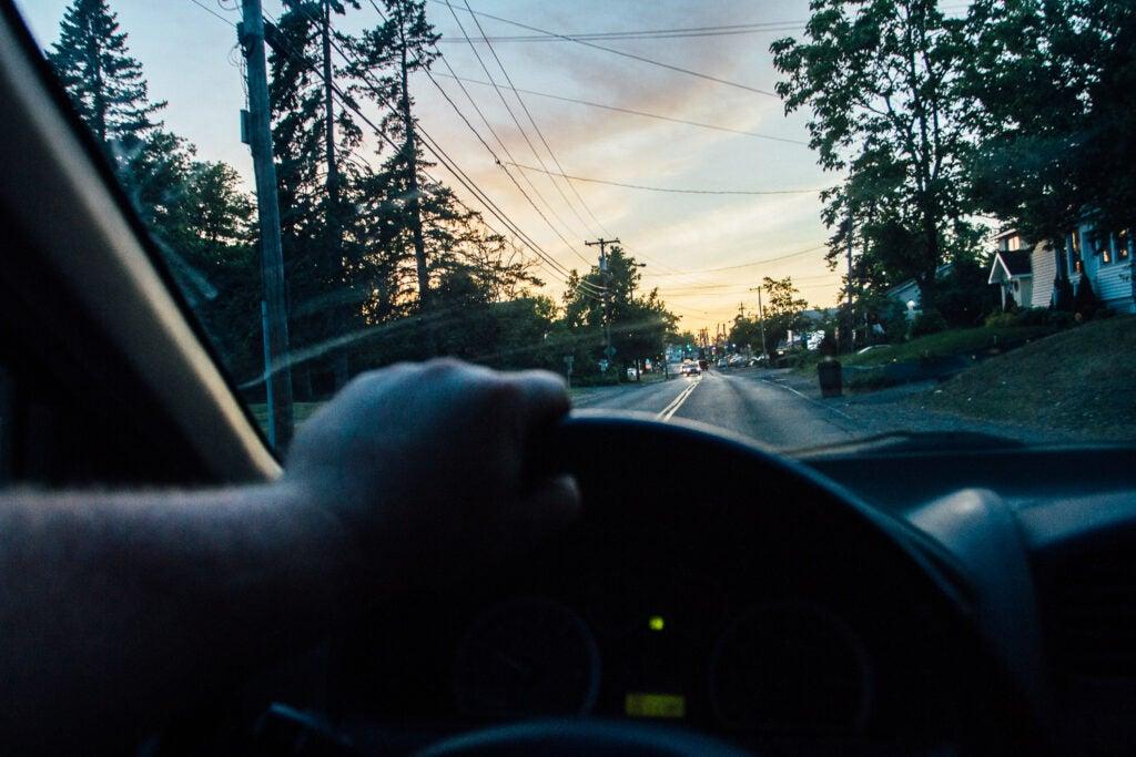 Don't take selfies while driving