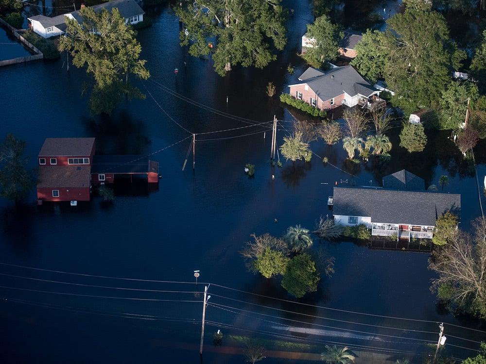 Hurricane Florence flooding carolinas
