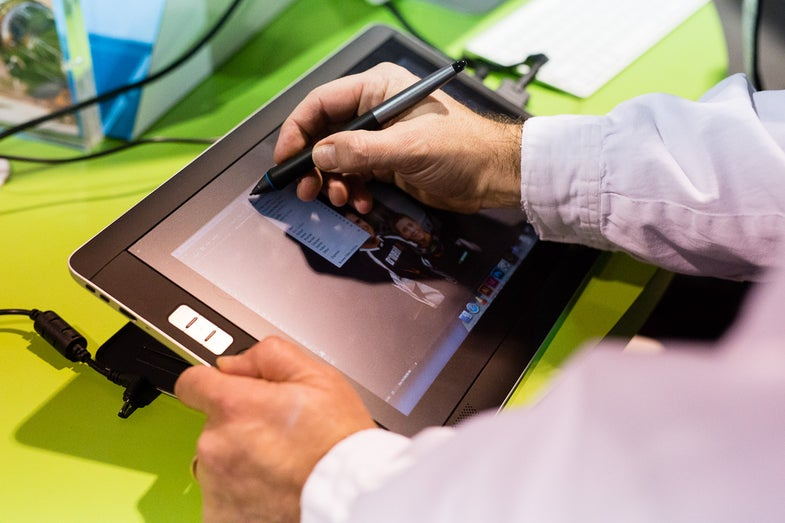 Wacom Cintiq Companion 2 Editing Tablet