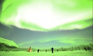 Imagine an Aurora Borealis So Bright, It Overexposes Your Photos