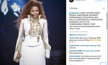 Instagram Users Post Videos of Janet Jackson Concert, Get Banned From the Service