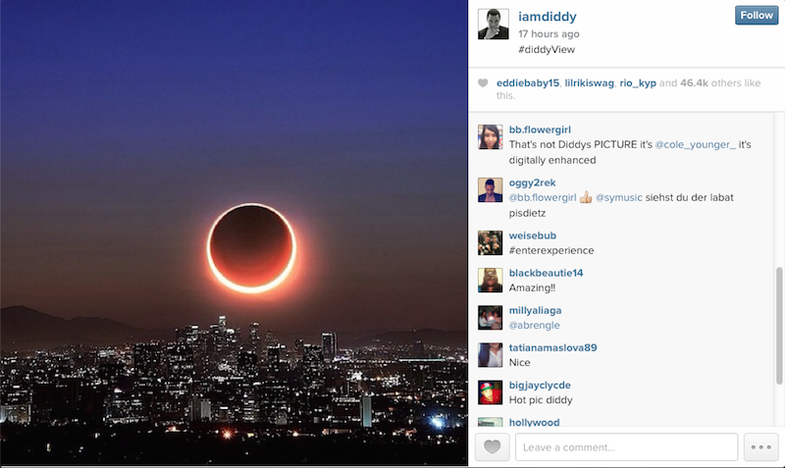 Diddy Instagram