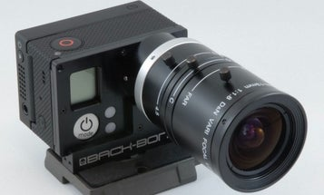 New Gear: Back-Bone Ribcage Adds Interchangeable Lenses to GoPro Cameras