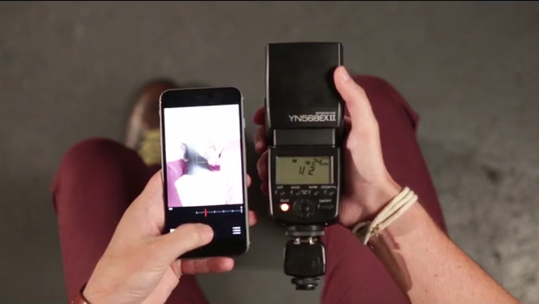 Tric Enables Real Off-Camera Flash Photography With an iPhone