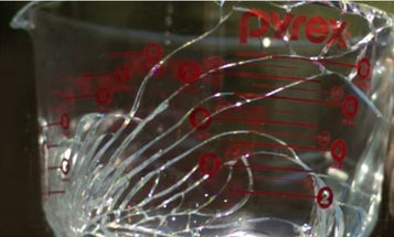 Breaking Glass At 300,000+ Frames Per Second Looks Absolutely Insane