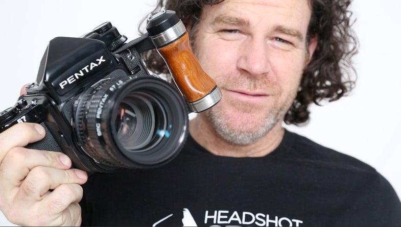 Peter Hurley's Pentax 67 Film Camera