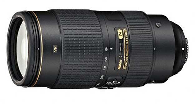 Nikon 80-400mm Telephoto zoom Lens