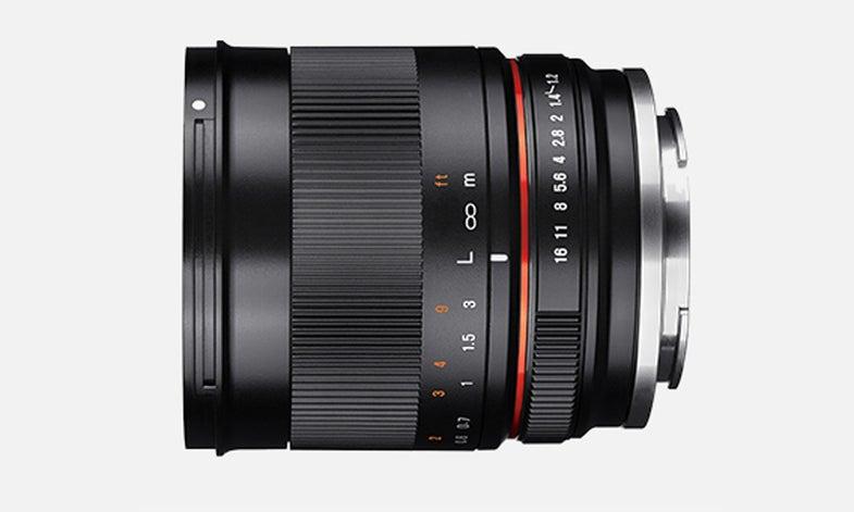 Samyang 35mm f/1.2 Lens for crop sensor cameras
