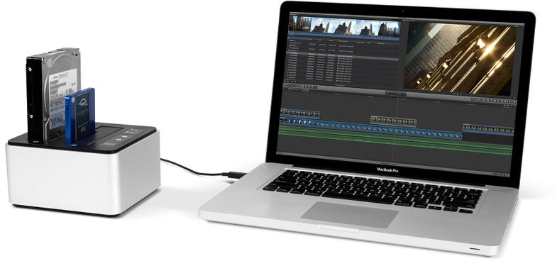 OWC Drive Dock Storage Solution For Photo And Video Editing