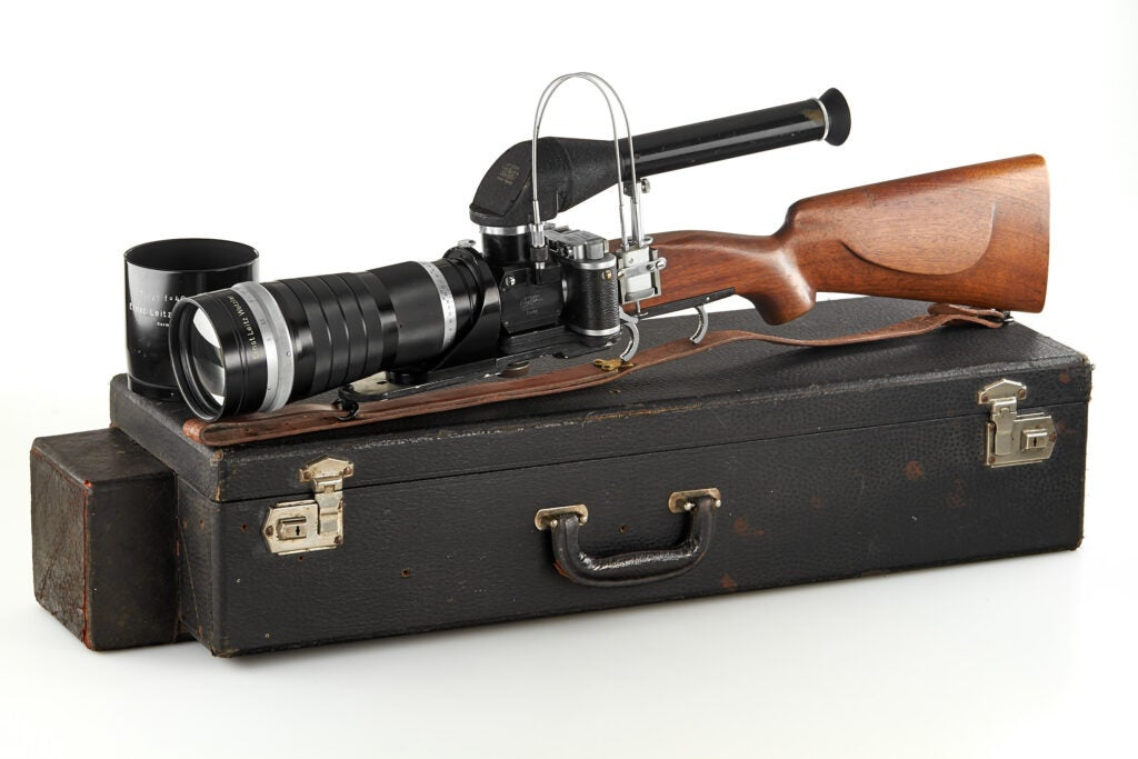Westlicht camera auction Leica rifle camera