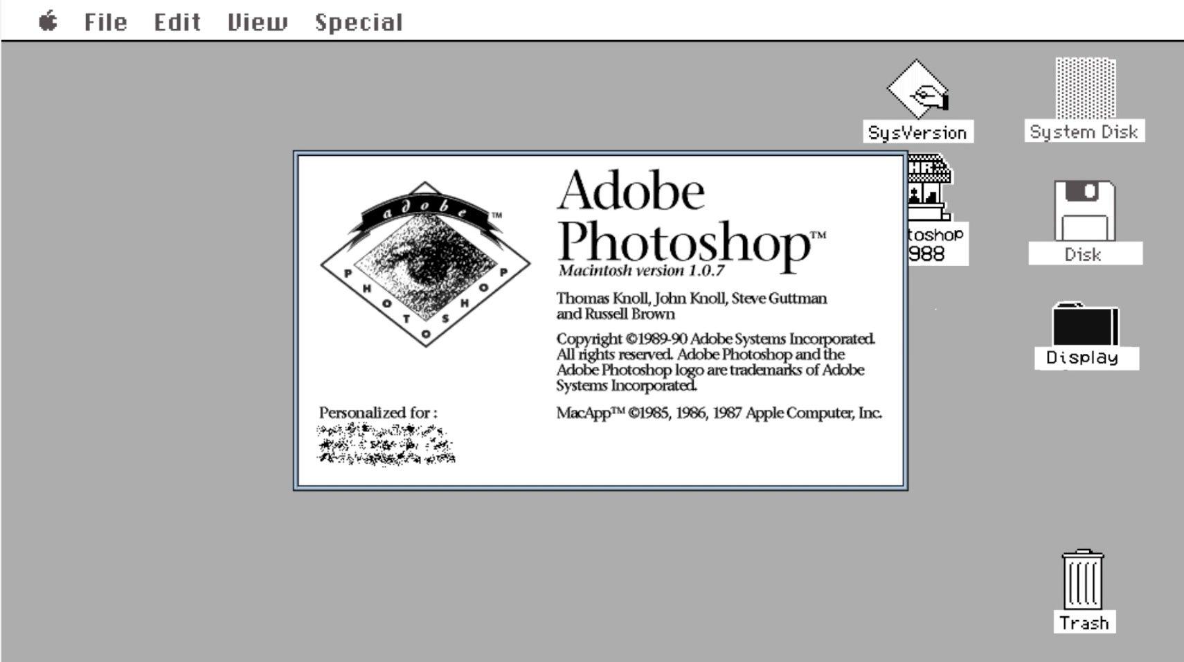 History of Photoshop