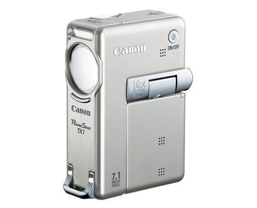 """Canon-PowerShot-TX1-digital-camera-with-720p-video"""