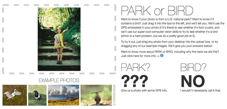 Flickr Bird or Park Site