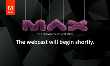 Adobe MAX Conference Keynote Announcements: Updating Live