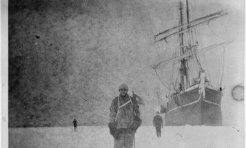 Photo Negatives Survive a Century Frozen In Antarctic Ice