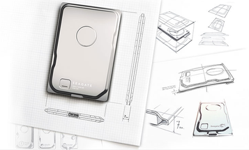"""CES 2015: Seagate Seven Portable Hard Drive Is the """"Thinnest External Storage"""""""