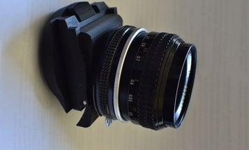 3D Printer Makes Macro Tilt Shift Lens Adapter On The Cheap