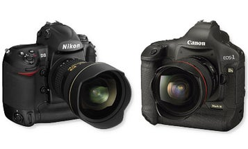 Nikon Versus Canon: The Competition for the Pro DSLR Market Is Heating Up