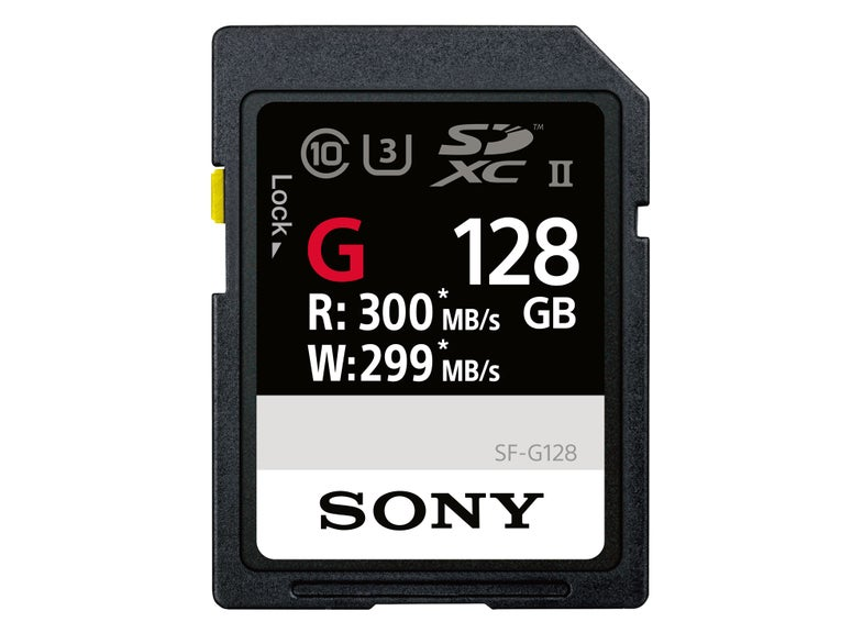 Sony World's Fastest Memory Cards SF-G