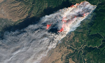 NASA provides a powerful view of California's deadly wildfires