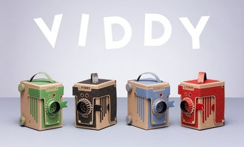 Kickstarter: A Pinhole Camera That You Can Assemble In 30 Minutes