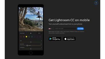 Lightroom CC on mobile