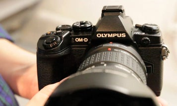 Hands On Video: Olympus OM-D E-M1 Flagship Camera