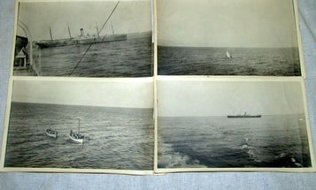 Auctioned Photos Show the Salvage of the Titanic, Possibly the Iceberg That Sank It