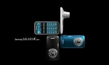 Samsung Galaxy K Smartphone Camera Has a 10X Zoom Lens