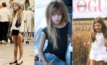 10-Year-Old French Model Ignites Intense Debate